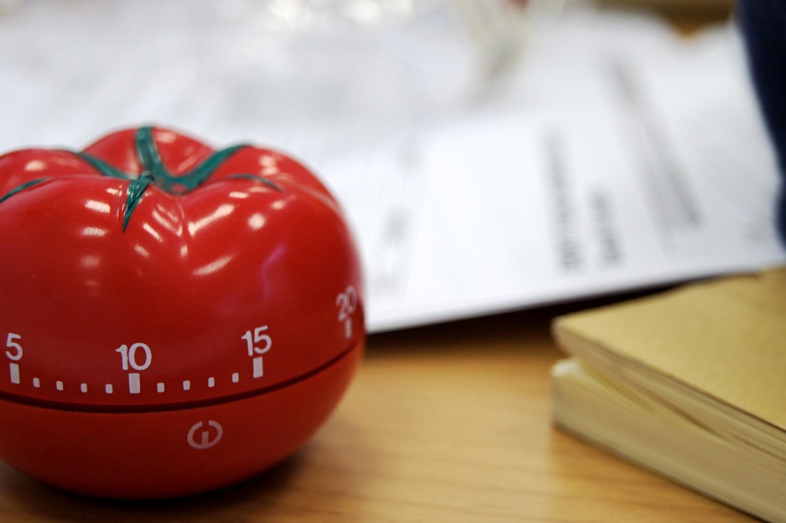 relógio pomodoro