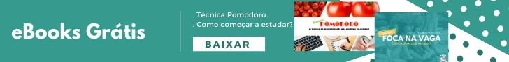 banner ebooks pomodoro e como começar a estudar