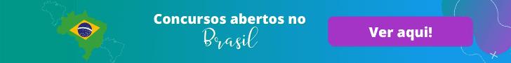 Concursos públicos com editais abertos no Brasil
