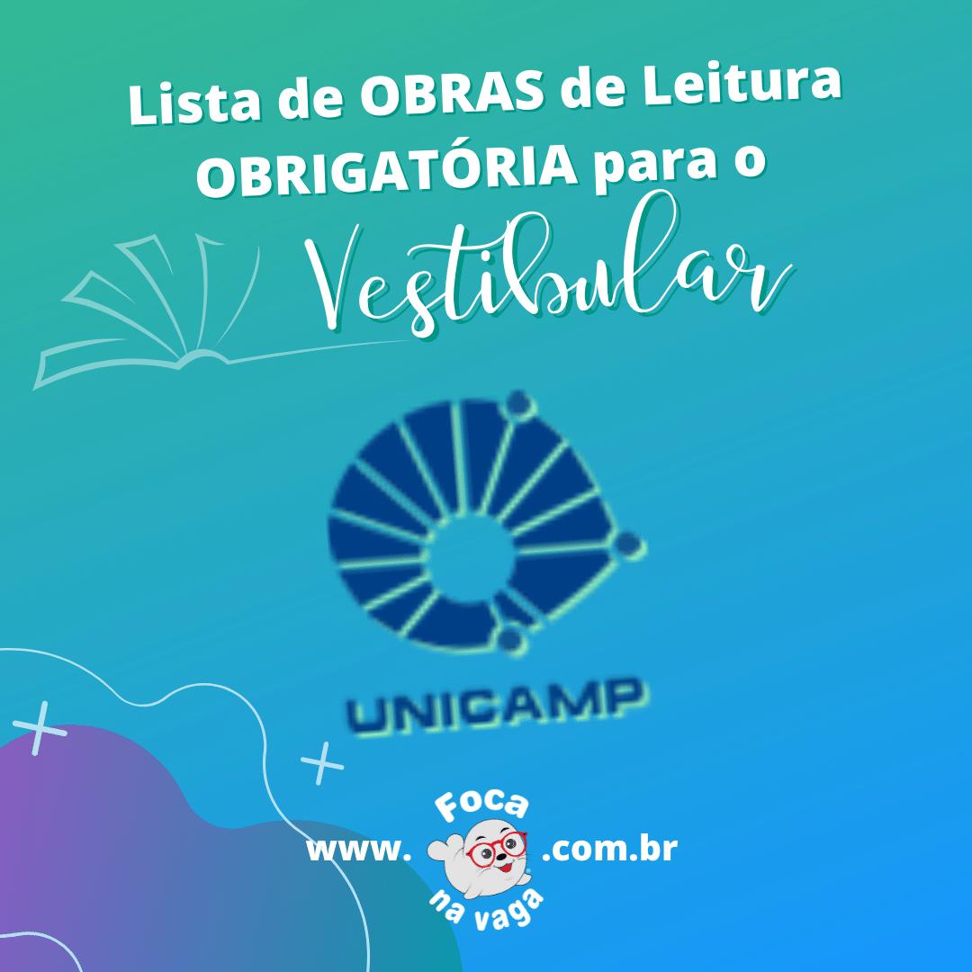 Livros de literatura Unicamp