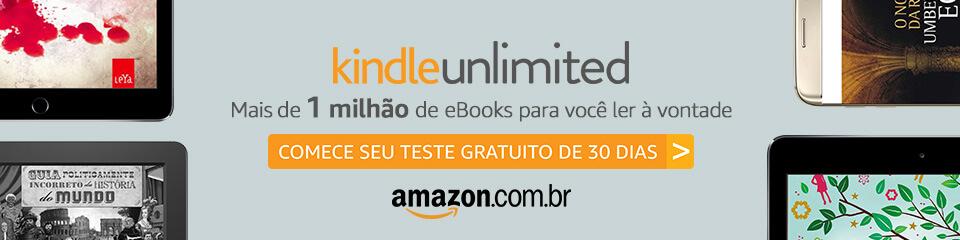 kindle unlimited um milhão de ebooks